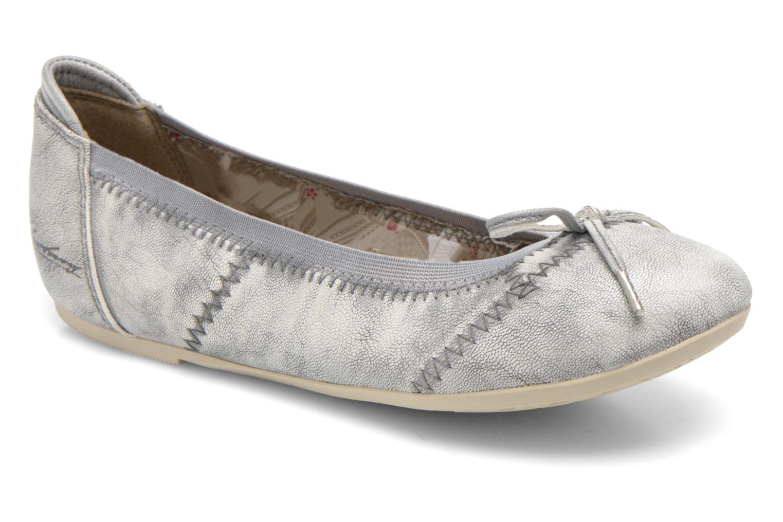 Ballerinas Mustang shoes Leah silber detaillierte ansicht/modell