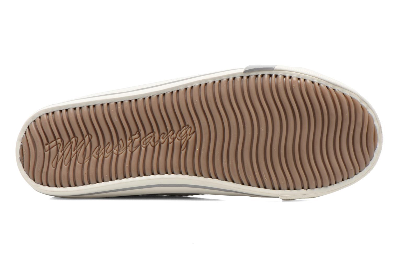 Sneaker Mustang shoes Hannah grau ansicht von oben