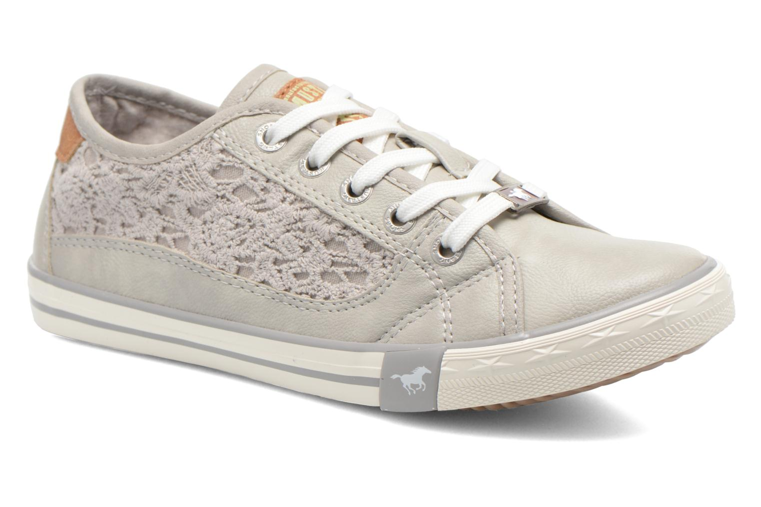 Trainers Mustang shoes Hannah Grey detailed view/ Pair view
