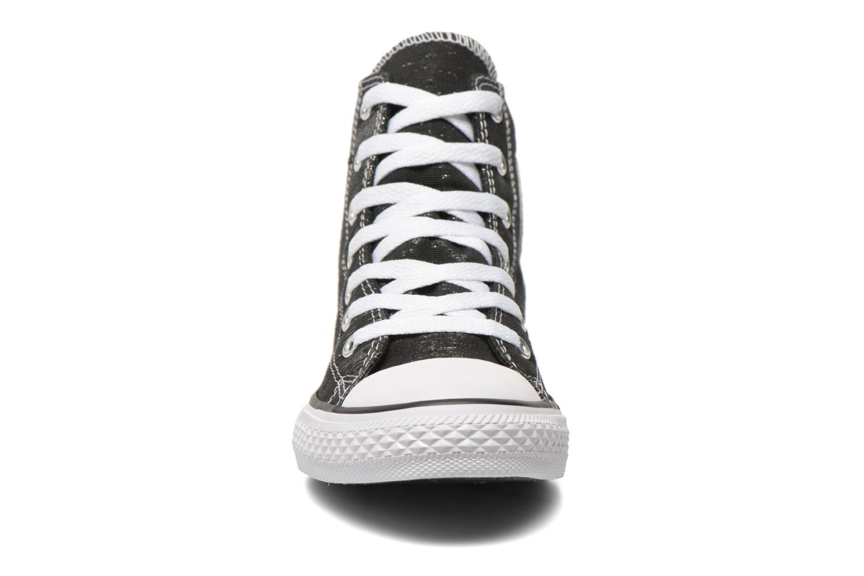 Baskets Converse Chuck Taylor All Star Hi Noir vue portées chaussures