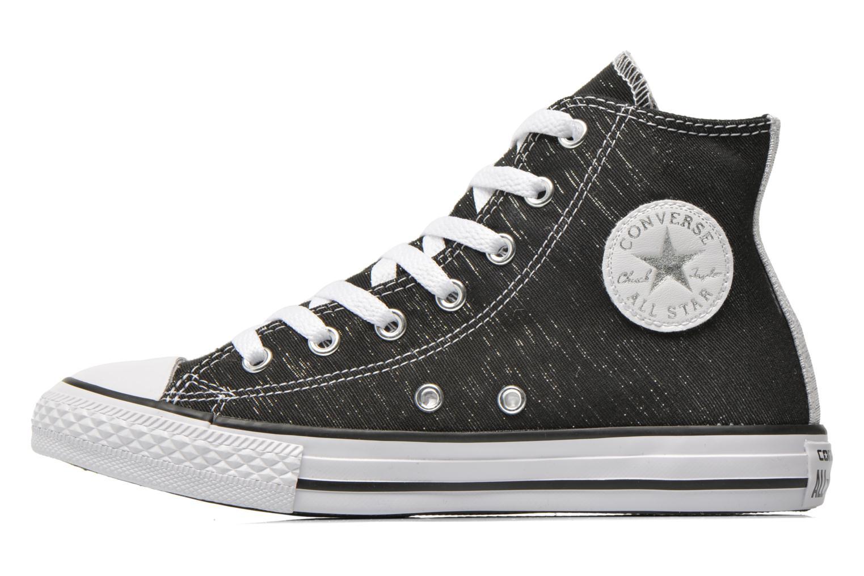 Sneakers Converse Chuck Taylor All Star Hi Zwart voorkant