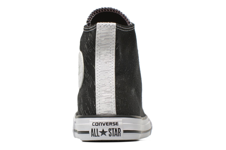 Baskets Converse Chuck Taylor All Star Hi Noir vue droite