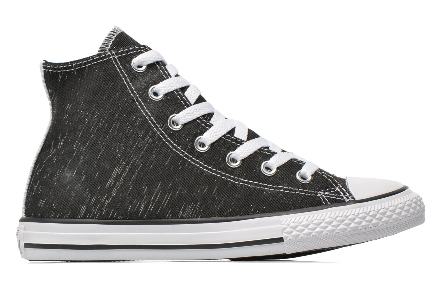 Trainers Converse Chuck Taylor All Star Hi Black back view