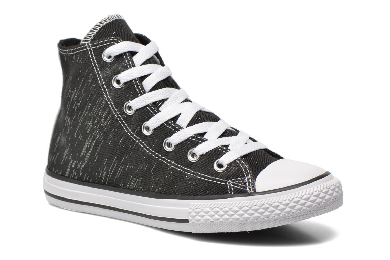 Sneakers Converse Chuck Taylor All Star Hi Zwart detail