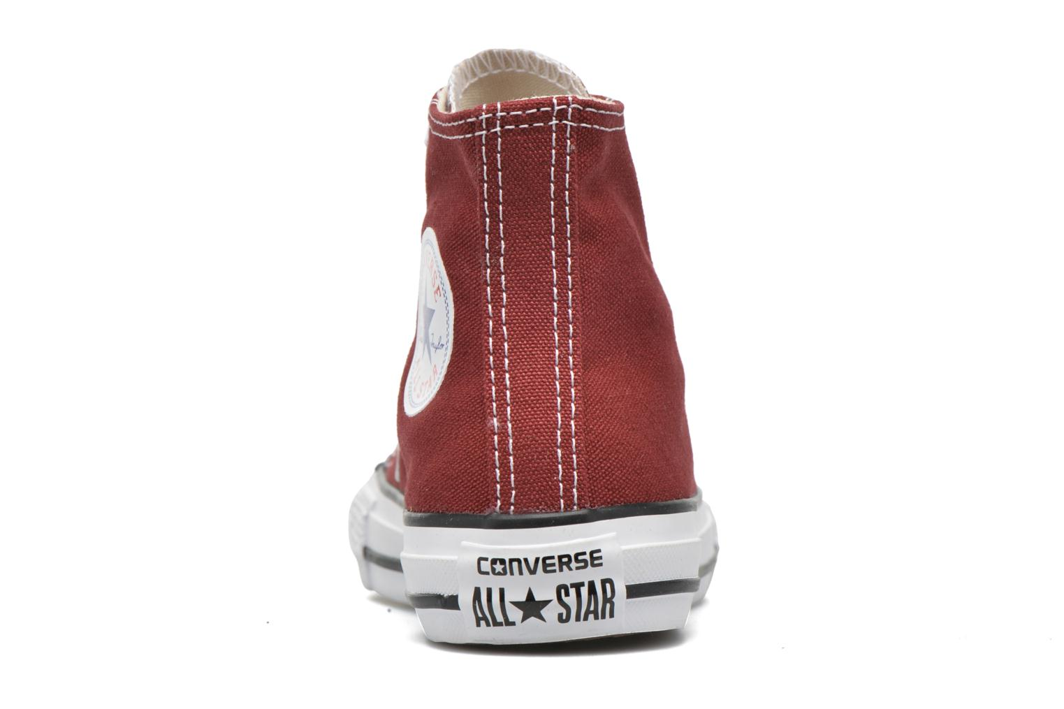 Baskets Converse Chuck Taylor All Star Hi Rouge vue droite