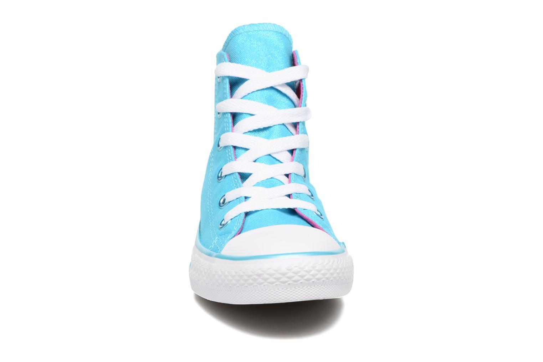 Chuck Taylor All Star Hi Fresh Cyan/Magenta Glow/White