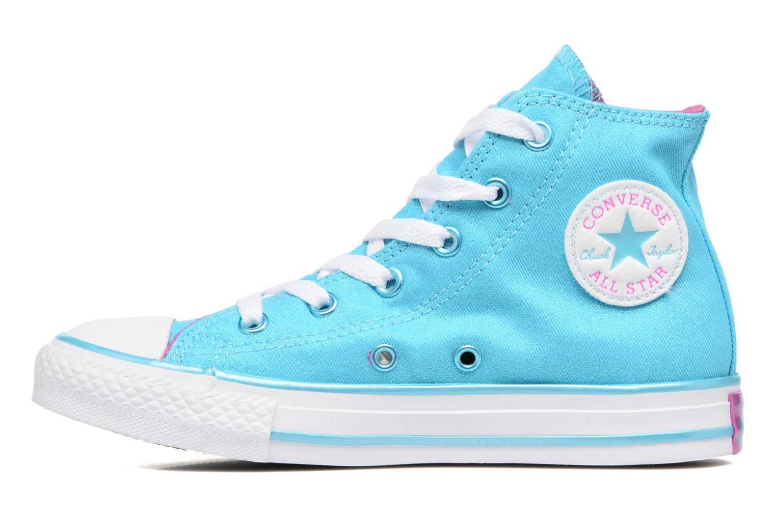 Sneakers Converse Chuck Taylor All Star Hi Blå se forfra