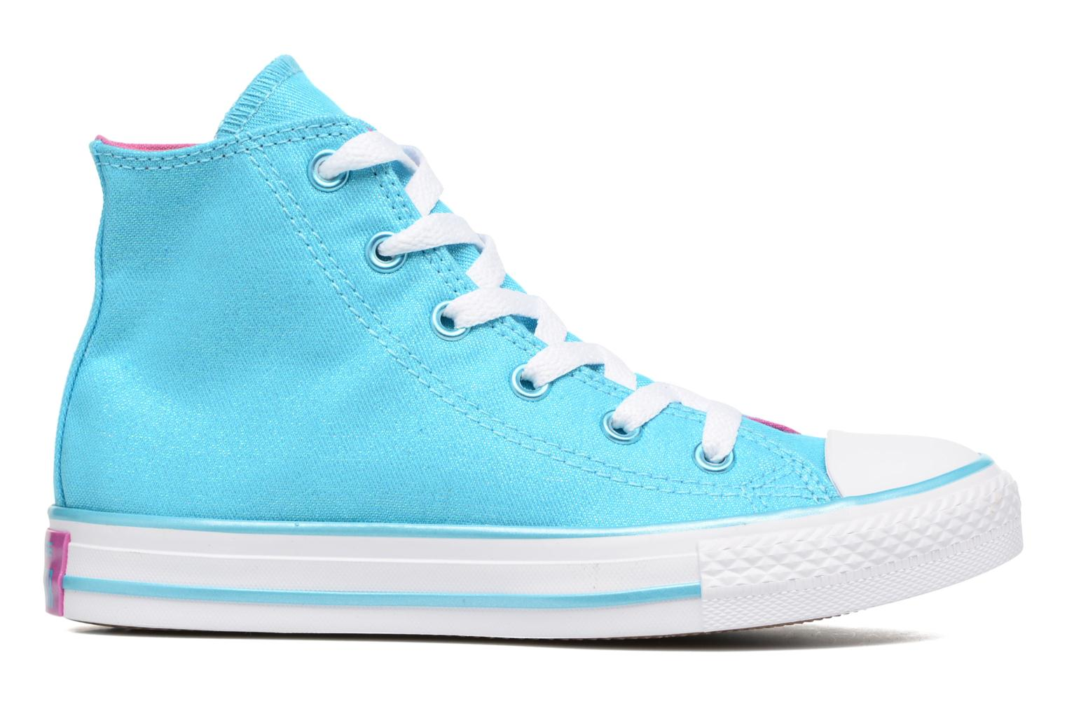 Sneakers Converse Chuck Taylor All Star Hi Blå se bagfra