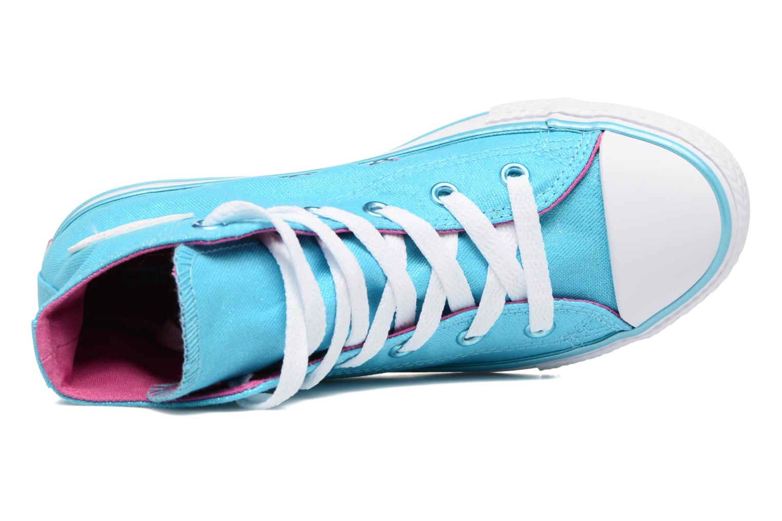 Chuck Taylor All Star Hi Fresh Cyan/Magenta Glow/White