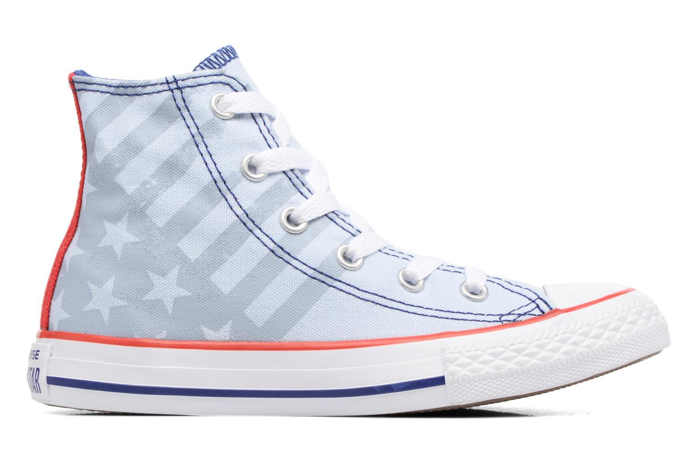 Sneakers Converse Chuck Taylor All Star Hi Blauw achterkant