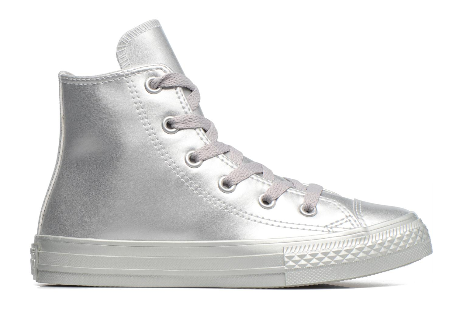 Trainers Converse Chuck Taylor All Star Hi Silver back view