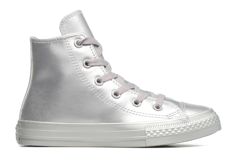 Sneakers Converse Chuck Taylor All Star Hi Zilver achterkant