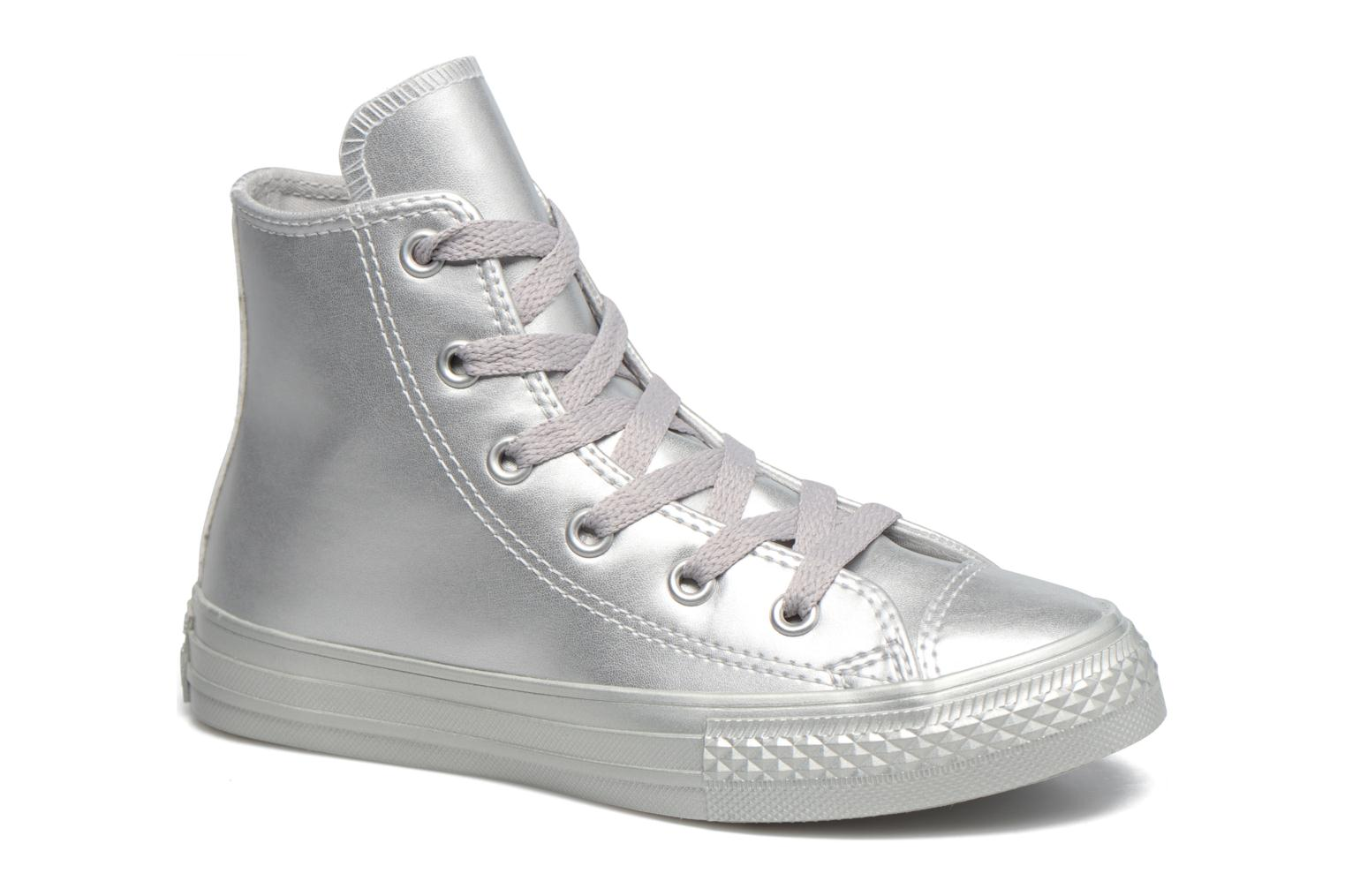 Sneakers Converse Chuck Taylor All Star Hi Zilver detail