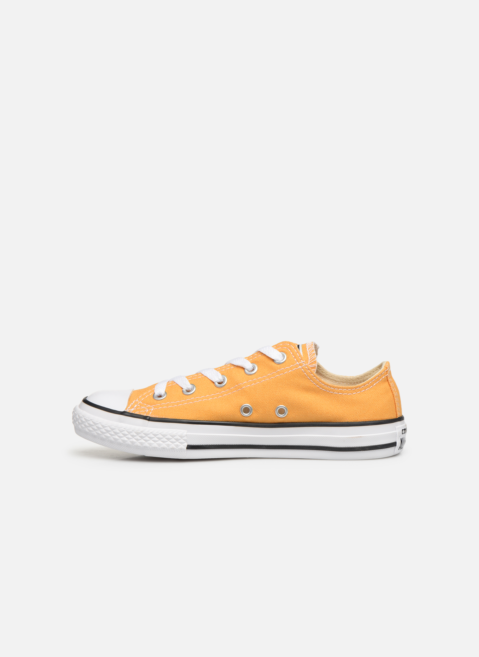 Baskets Converse Chuck Taylor All Star Ox Jaune vue face
