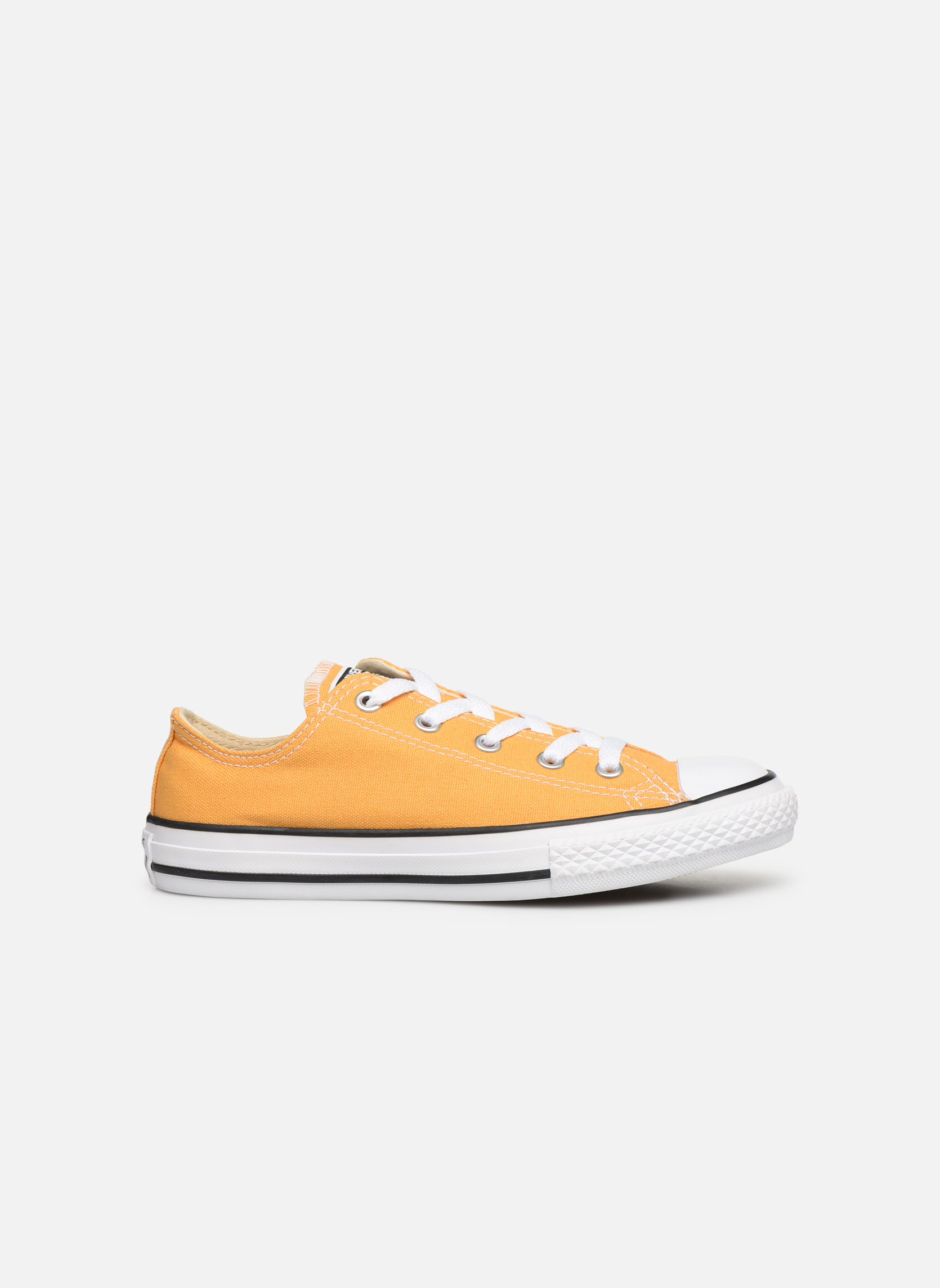 Baskets Converse Chuck Taylor All Star Ox Jaune vue derrière