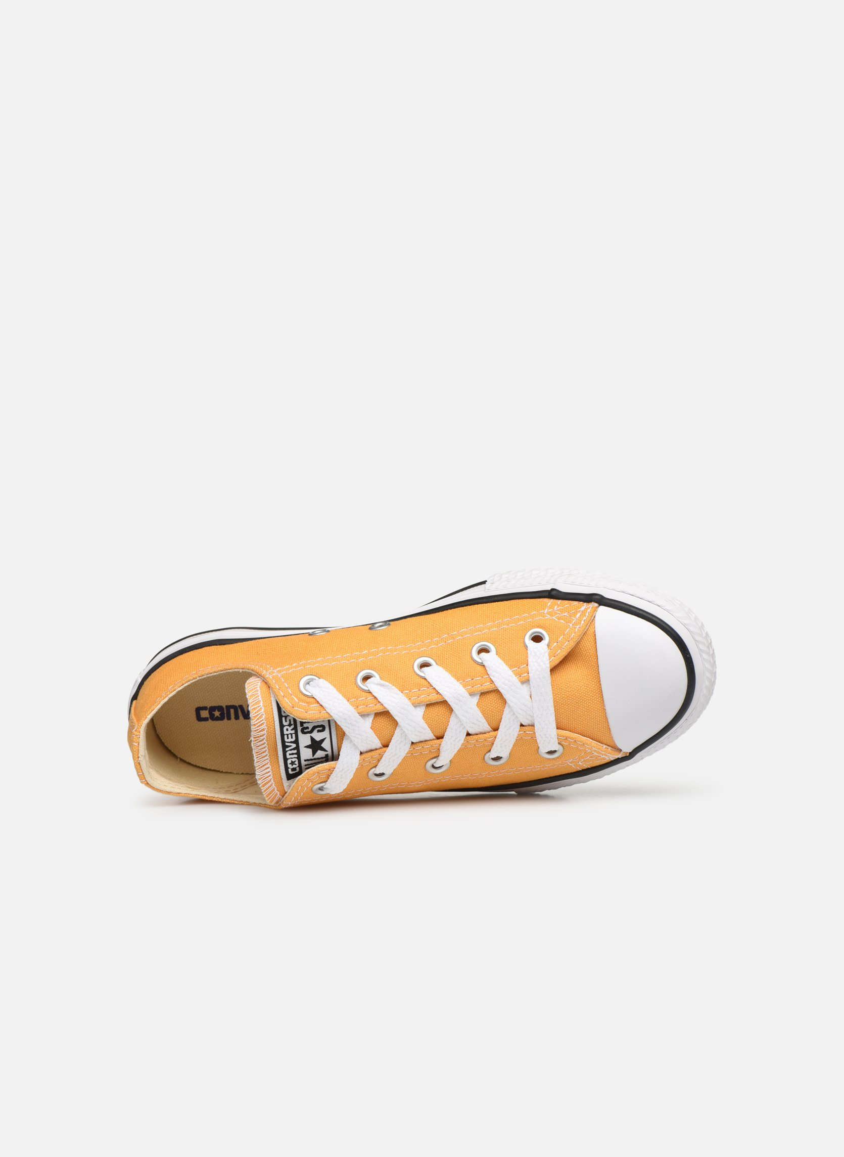 Baskets Converse Chuck Taylor All Star Ox Jaune vue gauche