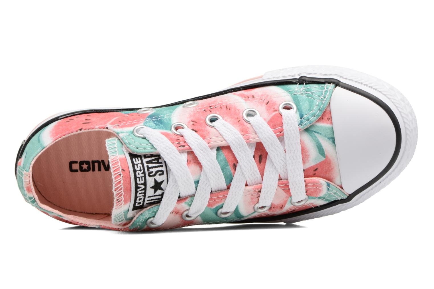 Chuck Taylor All Star Ox Vapor Pink/Green Glow/White