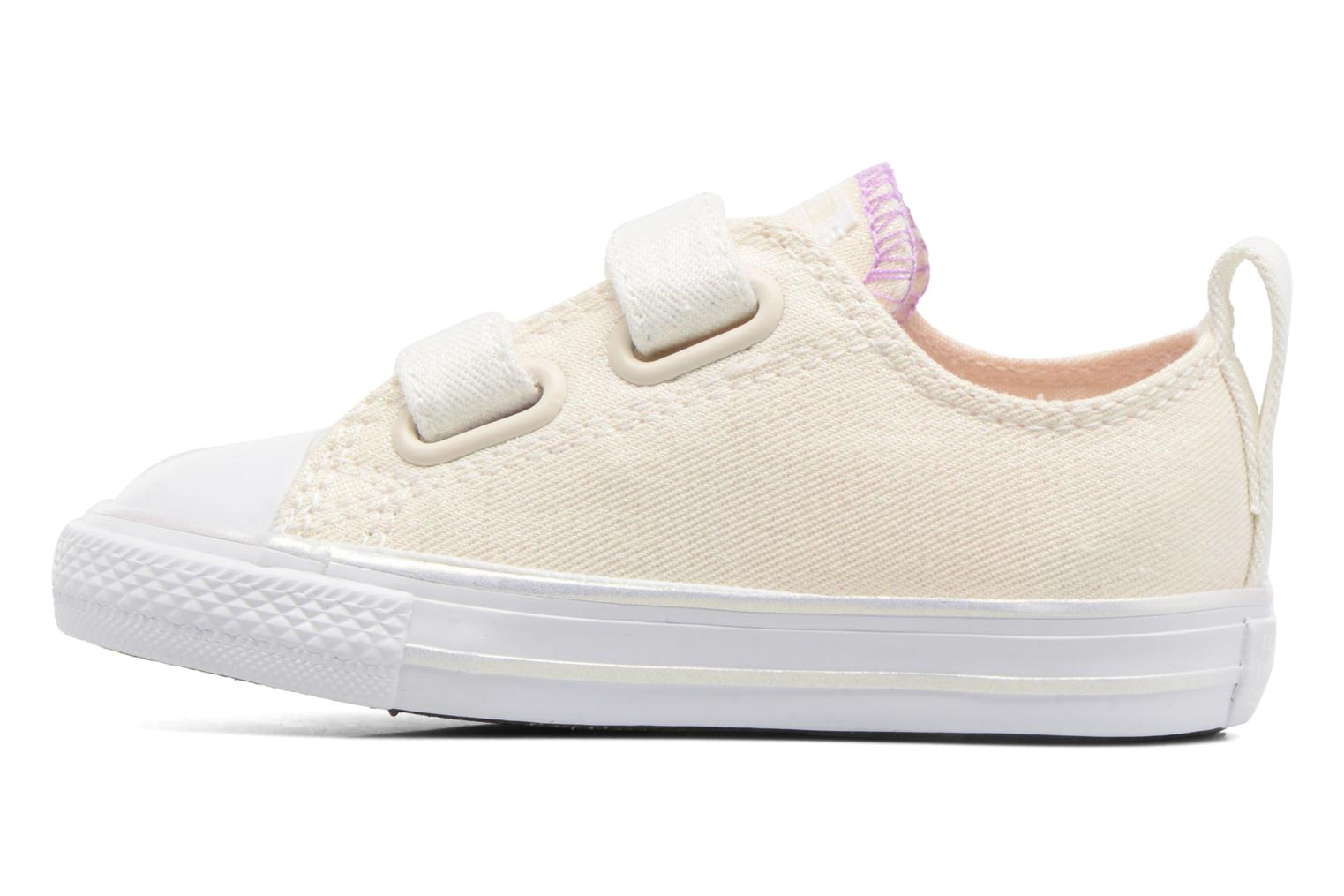 Sneakers Converse Chuck Taylor All Star 2V Ox Bianco immagine frontale