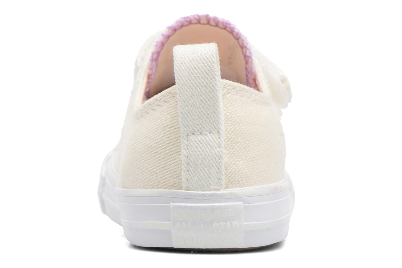 Sneakers Converse Chuck Taylor All Star 2V Ox Bianco immagine destra