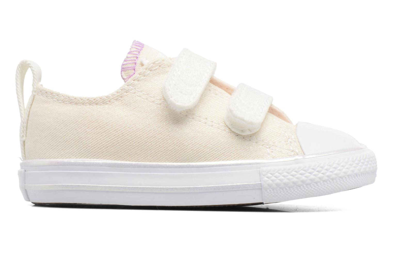 Sneakers Converse Chuck Taylor All Star 2V Ox Hvid se bagfra