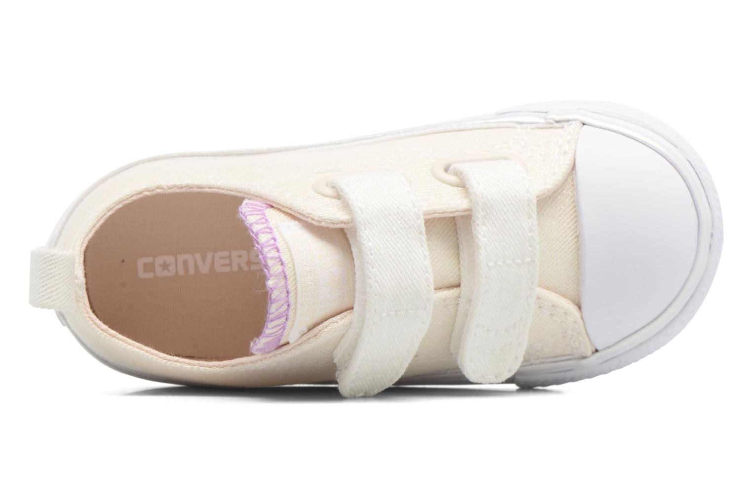 Sneakers Converse Chuck Taylor All Star 2V Ox Bianco immagine sinistra