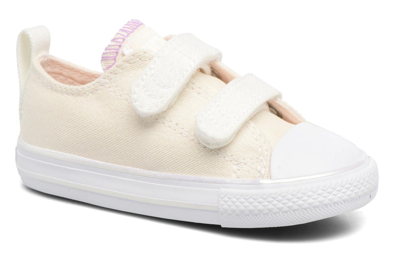 Sneakers Converse Chuck Taylor All Star 2V Ox Hvid detaljeret billede af skoene