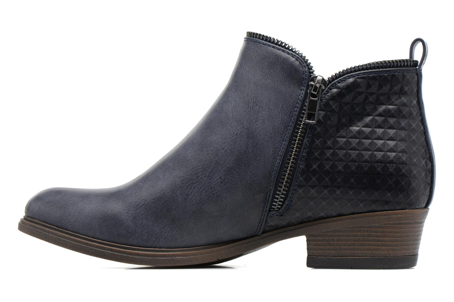 Ankle boots I Love Shoes Tharte Blue front view