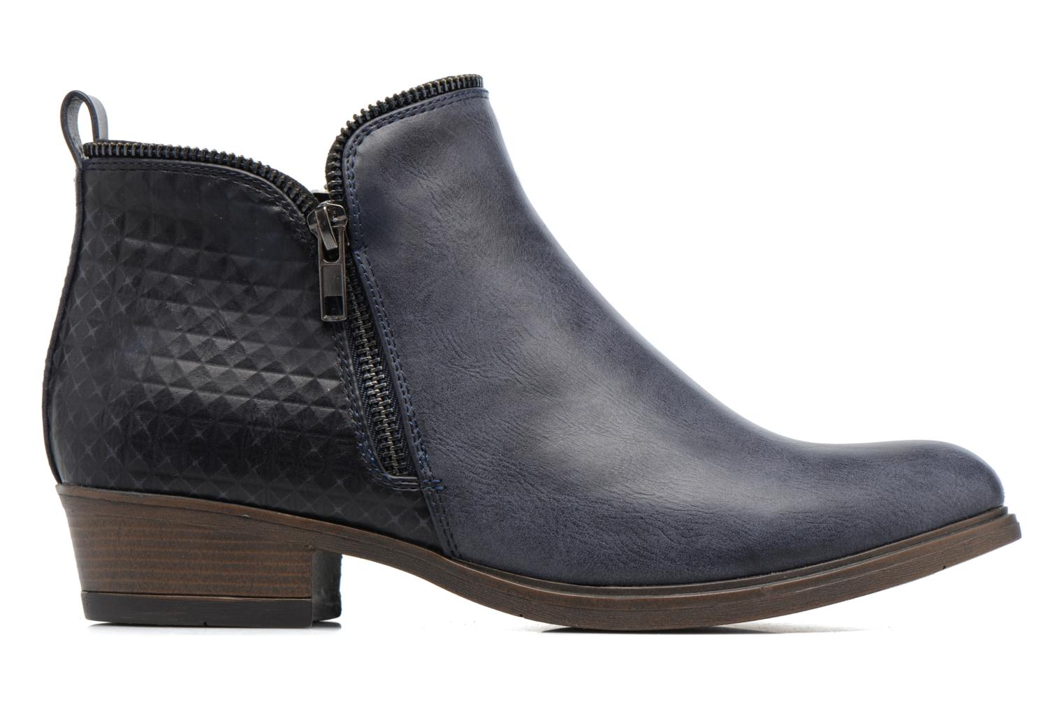 Ankle boots I Love Shoes Tharte Blue back view