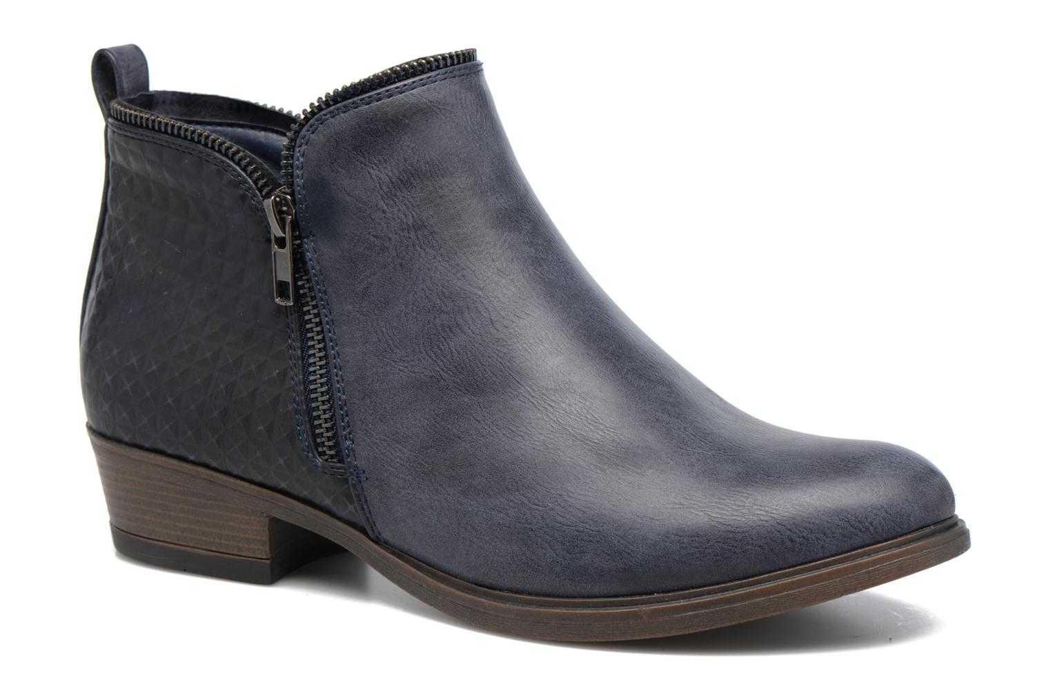 Ankle boots I Love Shoes Tharte Blue detailed view/ Pair view