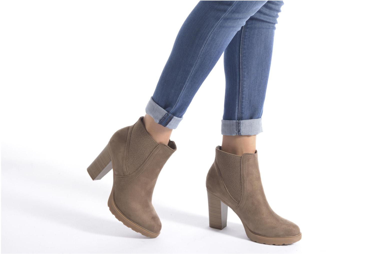 Stiefeletten & Boots I Love Shoes THASSE schwarz ansicht von unten / tasche getragen
