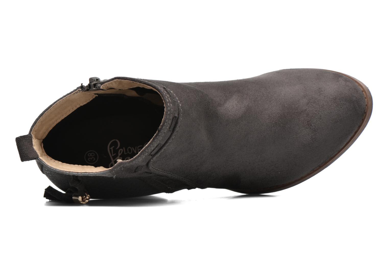 Botines  I Love Shoes THANSE Gris vista lateral izquierda
