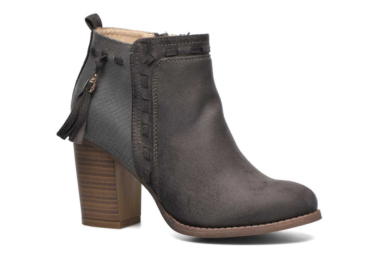 Botines  I Love Shoes THANSE Gris vista de detalle / par
