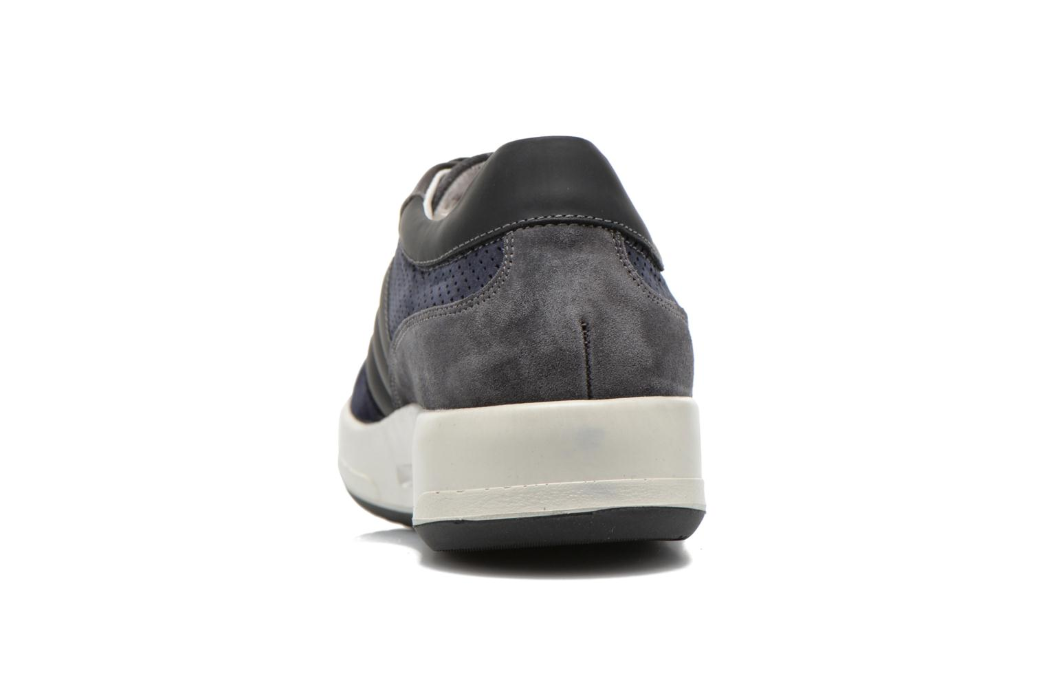 Trainers Lagerfeld Jil by Lagerfeld Blue view from the right
