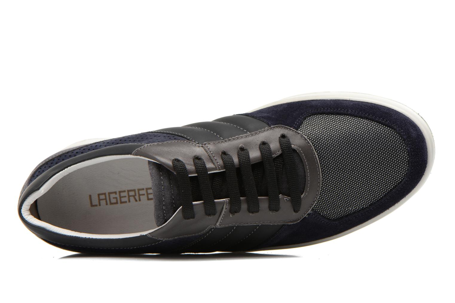 Trainers Lagerfeld Jil by Lagerfeld Blue view from the left