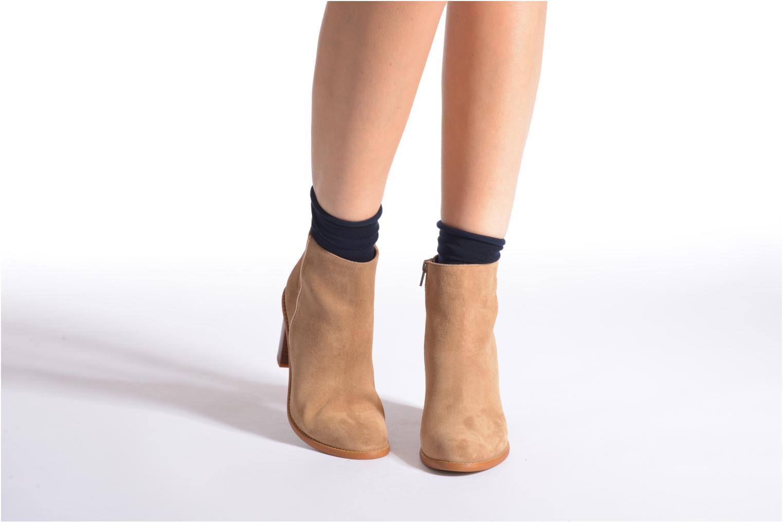 Chaussettes et collants Falke Chaussettes ACTIVEBREEZE Bleu vue portées chaussures