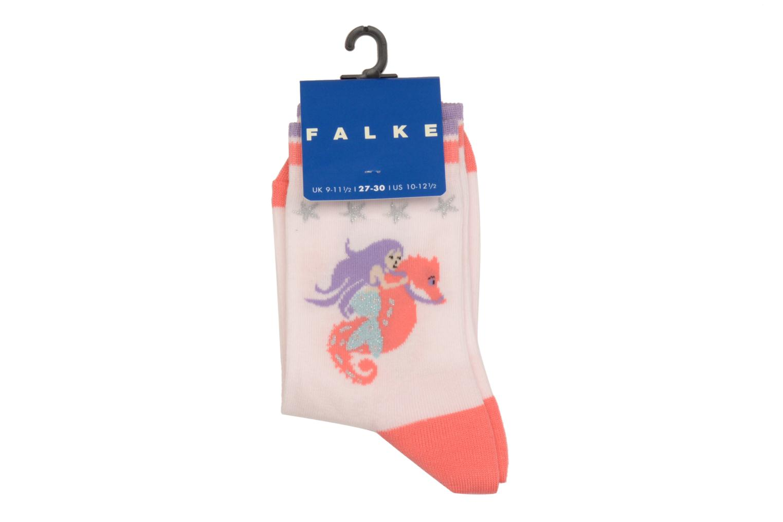 Medias y Calcetines Falke Socquettes Enfant Coton Mermaid SO Rosa vista del modelo