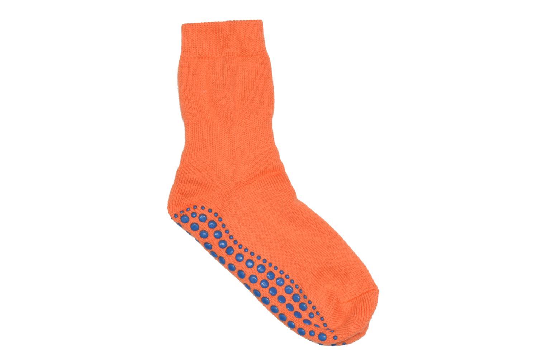 Chaussettes et collants Falke Chaussons-chaussettes Enfant Coton Anti-dérapant Catspads SO Orange vue détail/paire