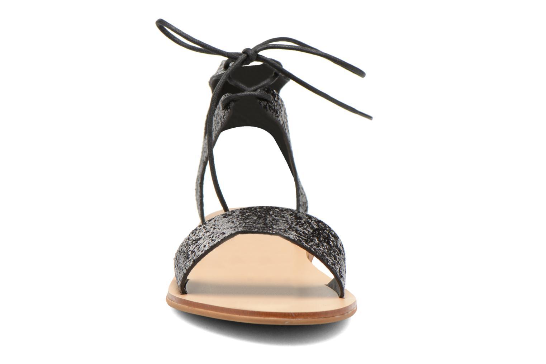 Sandales et nu-pieds Minelli F63 839/GLI Noir vue portées chaussures
