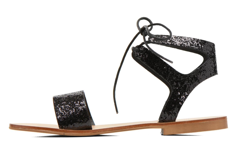 Sandales et nu-pieds Minelli F63 839/GLI Noir vue face