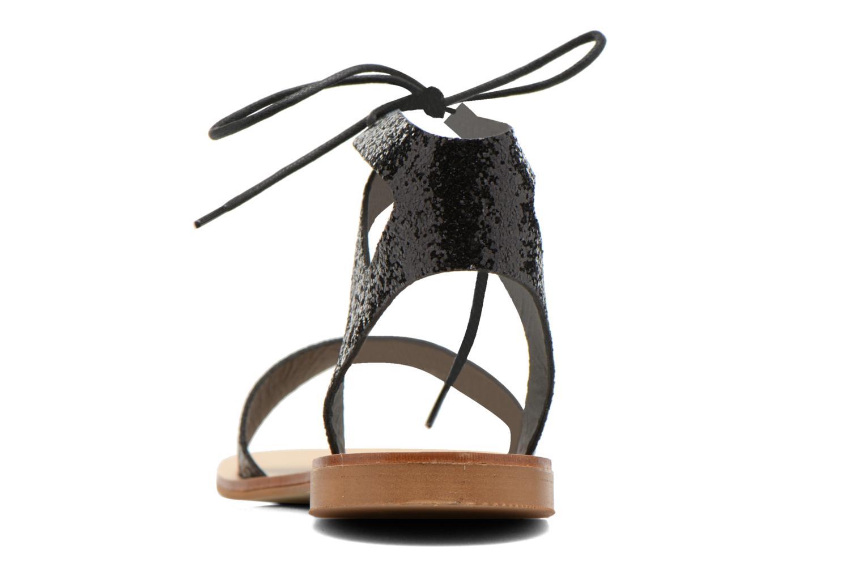 Sandales et nu-pieds Minelli F63 839/GLI Noir vue droite