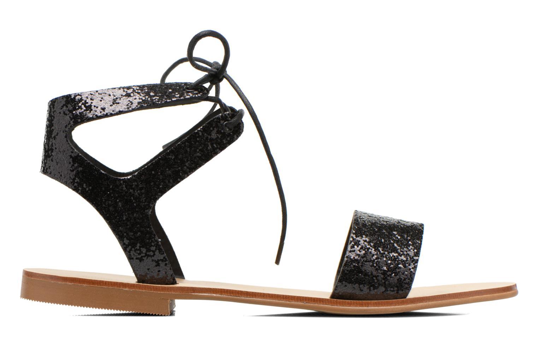 Sandales et nu-pieds Minelli F63 839/GLI Noir vue derrière