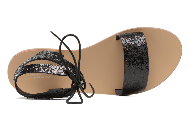 Sandales et nu-pieds Minelli F63 839/GLI Noir vue gauche
