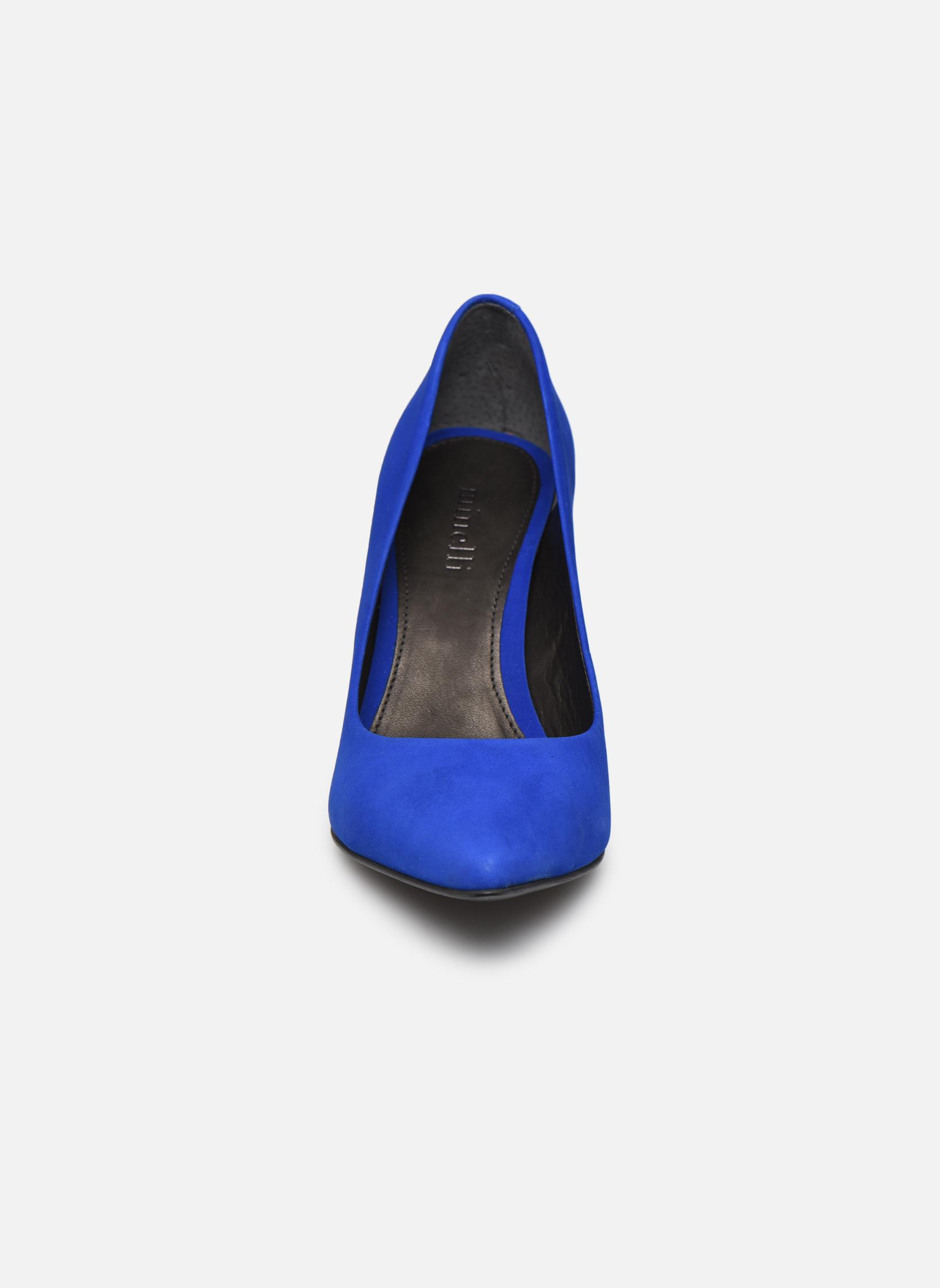 Escarpins Minelli F91 401/NUB Bleu vue portées chaussures