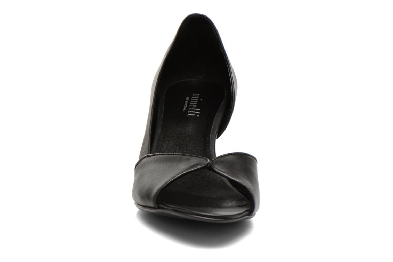 Zapatos de tacón Minelli F93 614 Negro vista del modelo