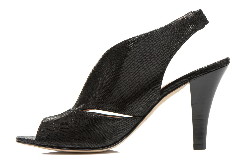 Sandales et nu-pieds Minelli F93 276/IMP Noir vue face