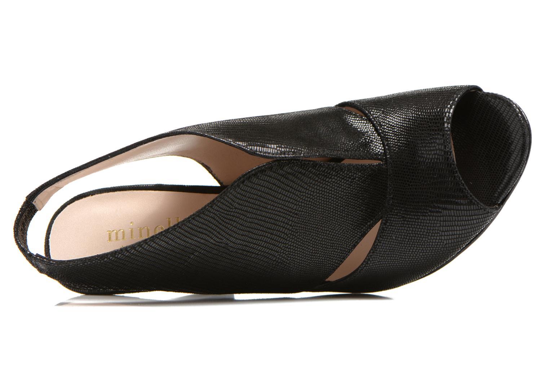 Sandales et nu-pieds Minelli F93 276/IMP Noir vue gauche
