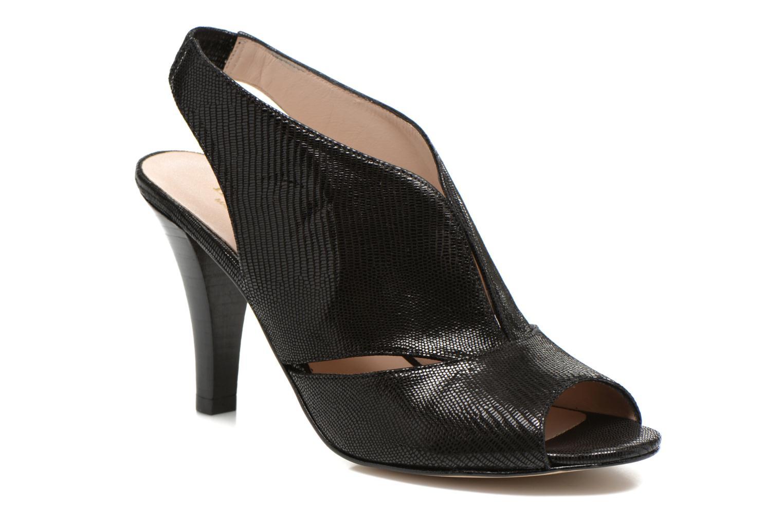 Sandales et nu-pieds Minelli F93 276/IMP Noir vue détail/paire