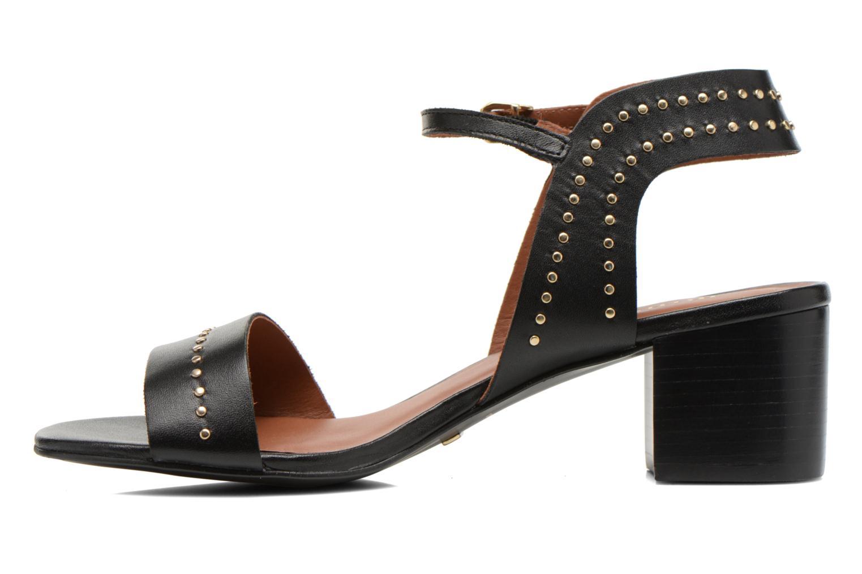 Sandals Minelli F93 840 Black front view