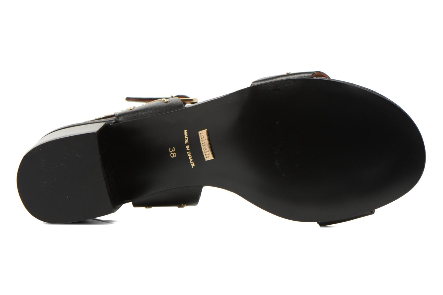 Sandals Minelli F93 840 Black view from above