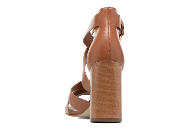 Sandales et nu-pieds Minelli F93 800 Marron vue droite